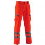Hi-Vis Combat Trousers For The Rail Industry Pulsarail PR336