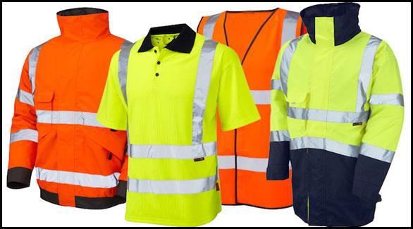 hi-vis workwear jackets