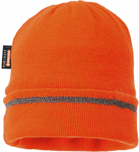 Portwest Reflective Trim Knit Hat Insulatex Lined (B023)