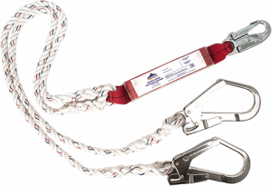 Portwest Double Lanyard With Shock Absorber (FP25)