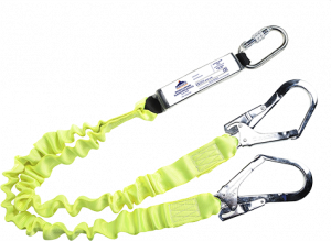 Portwest Double Lanyard Elasticated With Shock Absorber (FP52)
