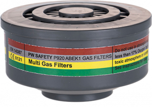 Portwest ABEK1 Gas Filter Special Thread Connection (P920)