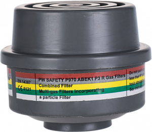 Portwest ABEK1P3 Combination Filter Special Thread Connection (P970)