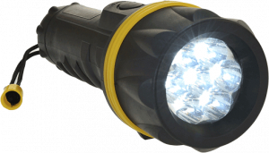 Portwest 7 LED Rubber Torch (PA60)