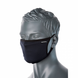 Portwest 3 Ply Fabric Face Mask (CV30)