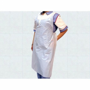 White Disposable Aprons - Pack of 100