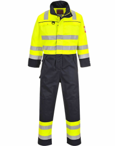 Portwest Hi-Vis Multi-Norm Coverall (FR60)