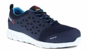 Reebok Womens Excel Light S1P Safety Trainer (Blue)