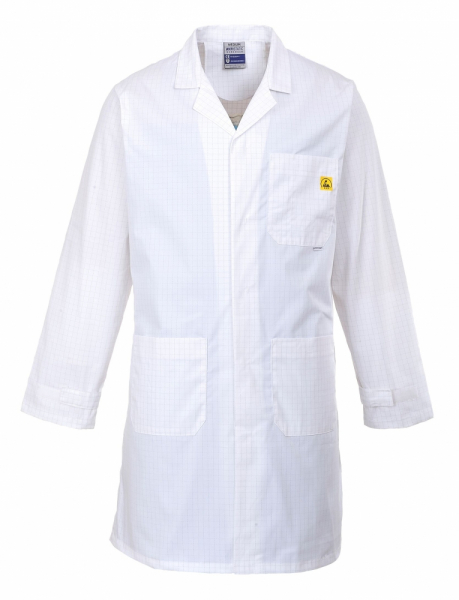 Portwest Anti-Static ESD Coat (AS10)