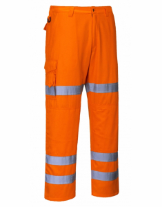 Portwest HiVis Three Band Combat Trousers (RT49)