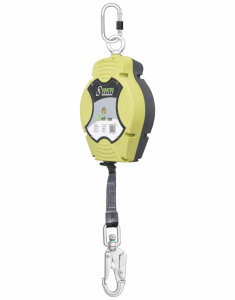 Kratos Helixon-retractable Web Rope Fall Arrest Block 12mtr Vert (FA2050412)