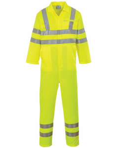 Portwest Hi-Vis Poly-cotton Coverall (E042)