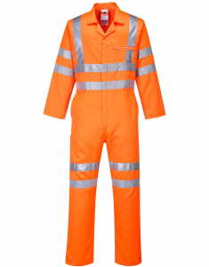 Portwest Hi-Vis Poly-cotton Coverall RIS (RT42)