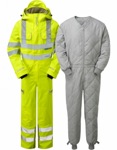 Pulsar Unlined Waterproof Coverall (P522) with Liner (G100COV)
