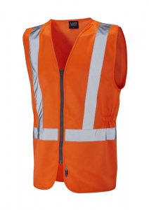 Leo Copplestone ISO 20471 Class 2 Railway Plus Waistcoat  (W16-O)