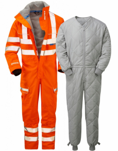 Pulsarail Unlined Waterproof Coverall (PR505) with Liner (G100COV)