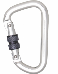 Kratos Aluminium Screw Locking Karabiner (FA5010322)