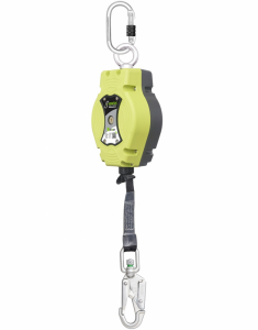 Kratos Helixon-retractable Web Rope Fall Arrest Block 6mtr Vert (FA2050406B)