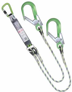 Kratos Y Forked Energy Abs Rope Lanyard 1.5 Mtr (FA3061015)