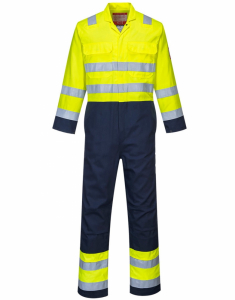 Portwest Hi-Vis Anti-Static Bizflame Pro Coverall (BIZ7)