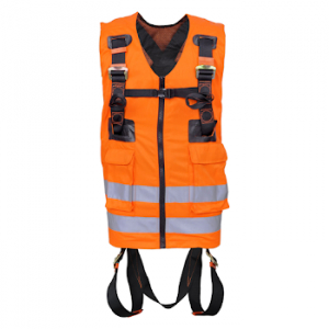 Kratos Harness High Visibility With Two Attachment Points Orange (FA1030300)
